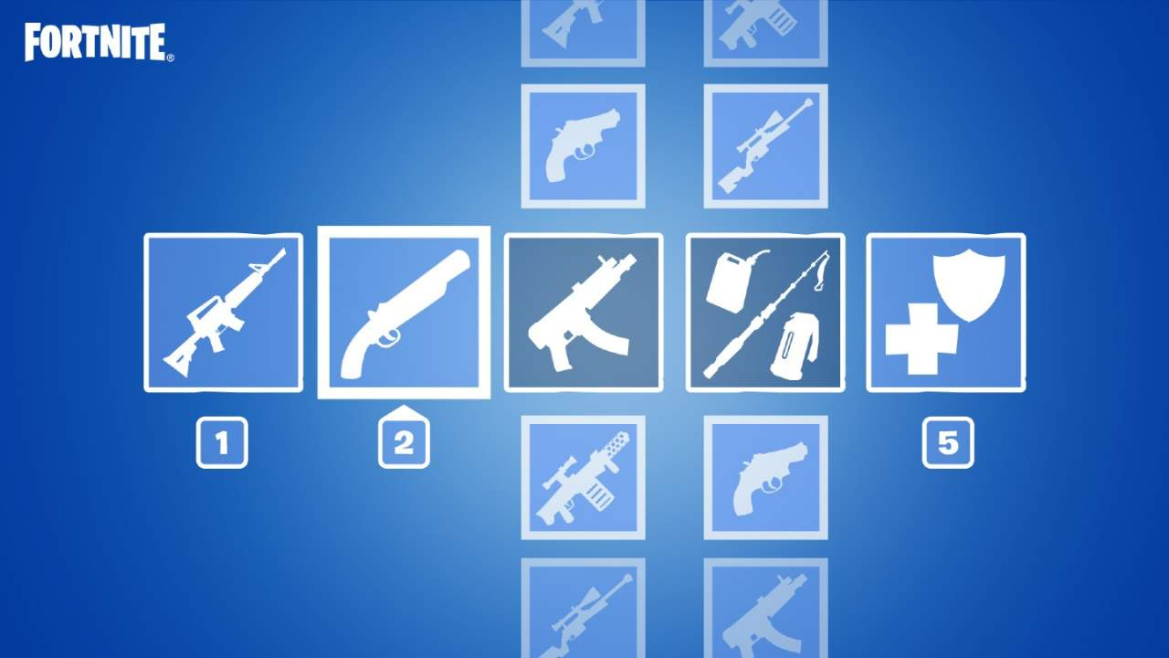 Fortnite's next big update will bring Preferred Item Slots for auto-sorting