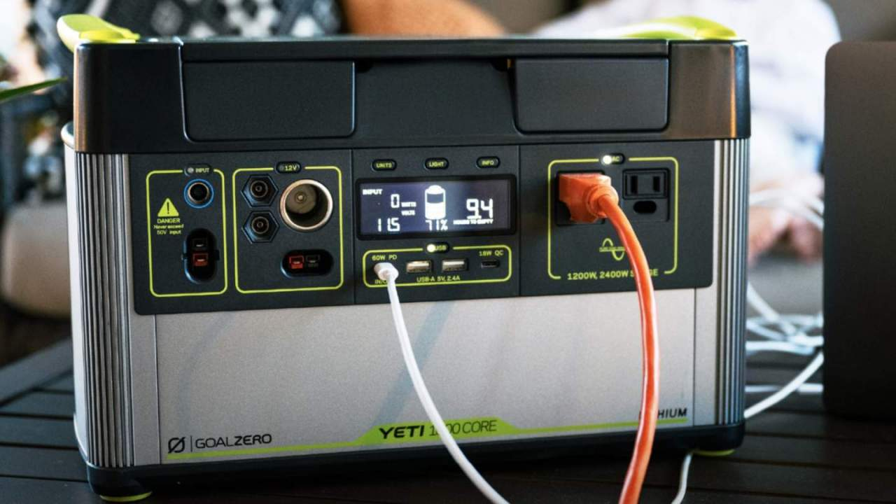 Goal Zero Yeti 1000 Core is an unexpectedly affordable outage battery