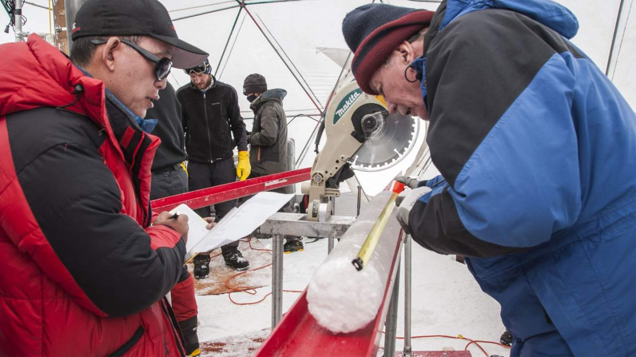 Ancient viruses discovered in an ice core from Tibet
