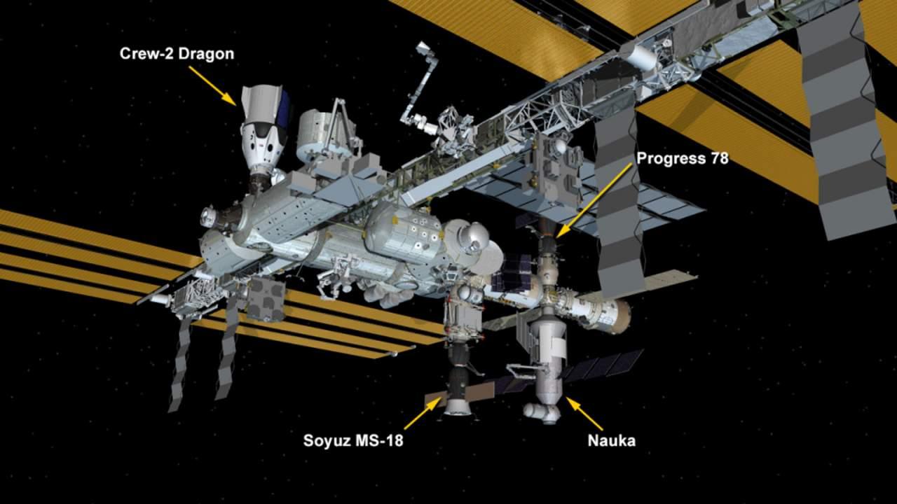 ISS experiences unplanned Nauka module thruster firing