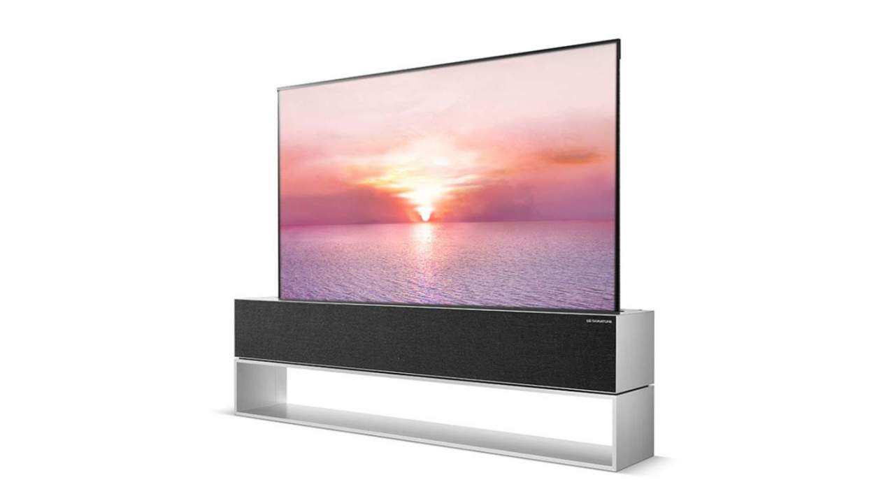 LG SIGNATURE OLED R rollable TV goes on sale at $100,000
