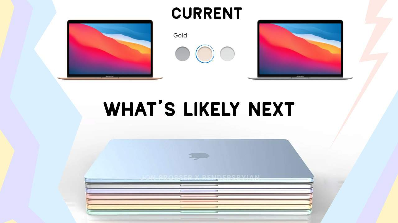 Colorful MacBook Air tipped to lead M2 charge: What's left for M1X?