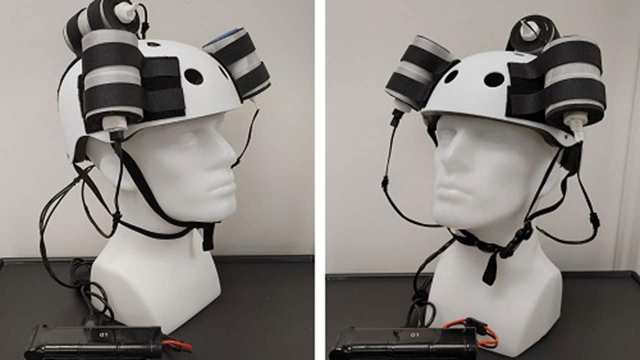Strange looking magnetic helmet shrinks glioblastoma in human trials