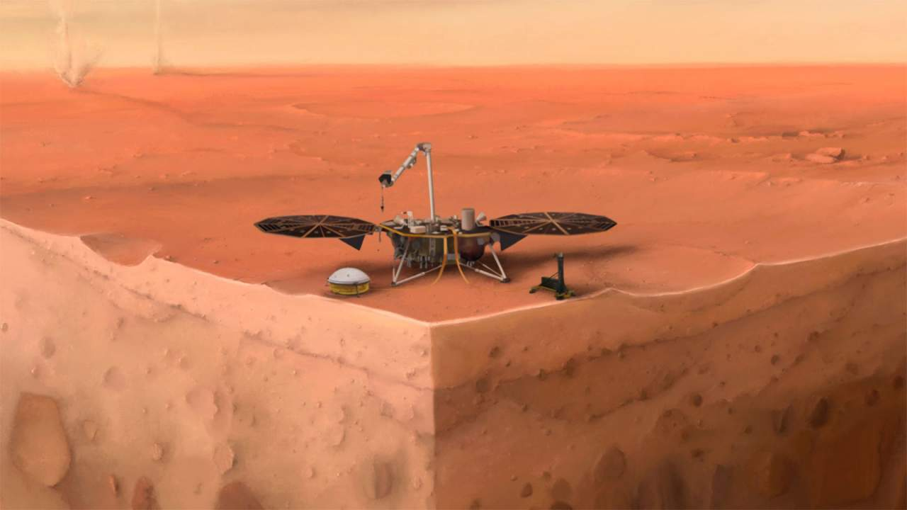 NASA InSight check out what's inside Mars