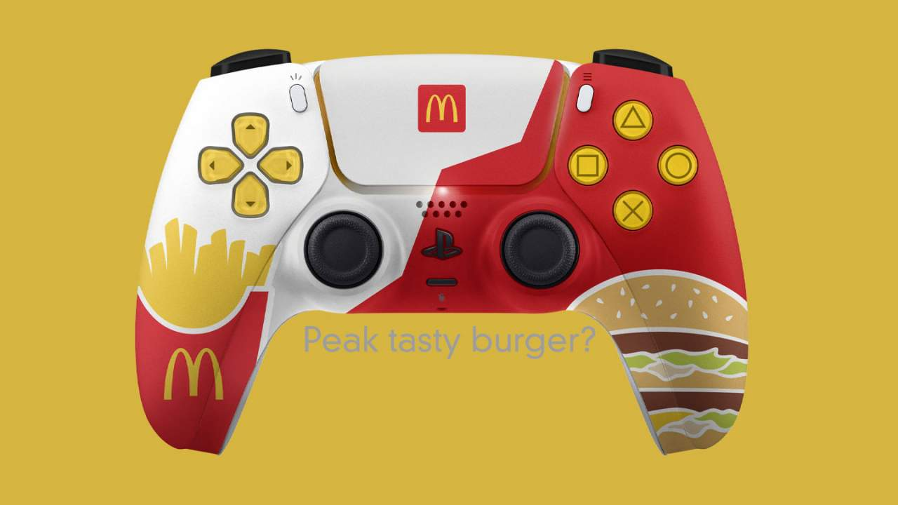 Is the McDonald's PS5 controller legit, or just clowning? [UPDATE: Removed!]