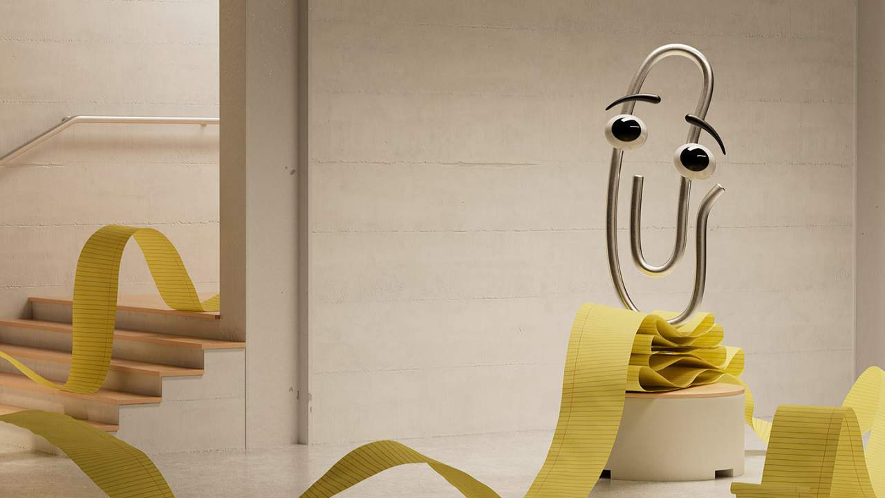 Clippy returns with new Microsoft Teams backgrounds