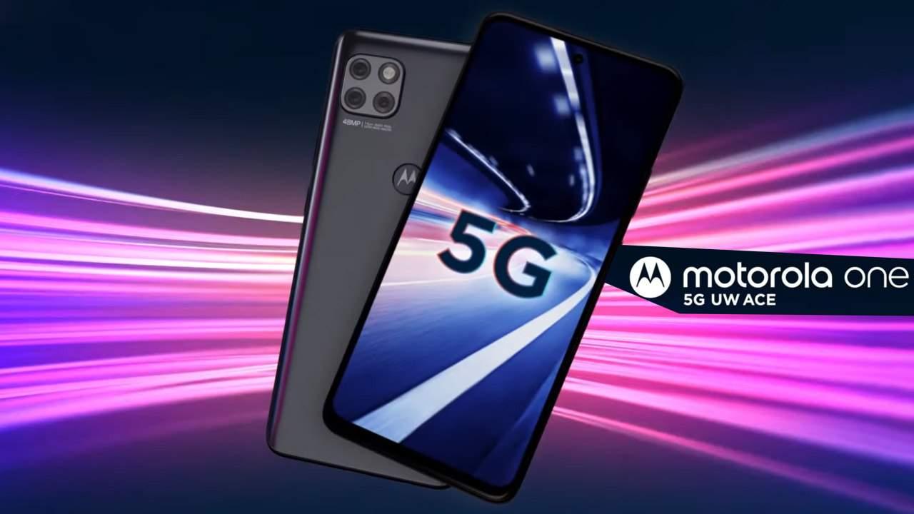Motorola one 5G UW ace now Verizon's cheapest entry to 5G