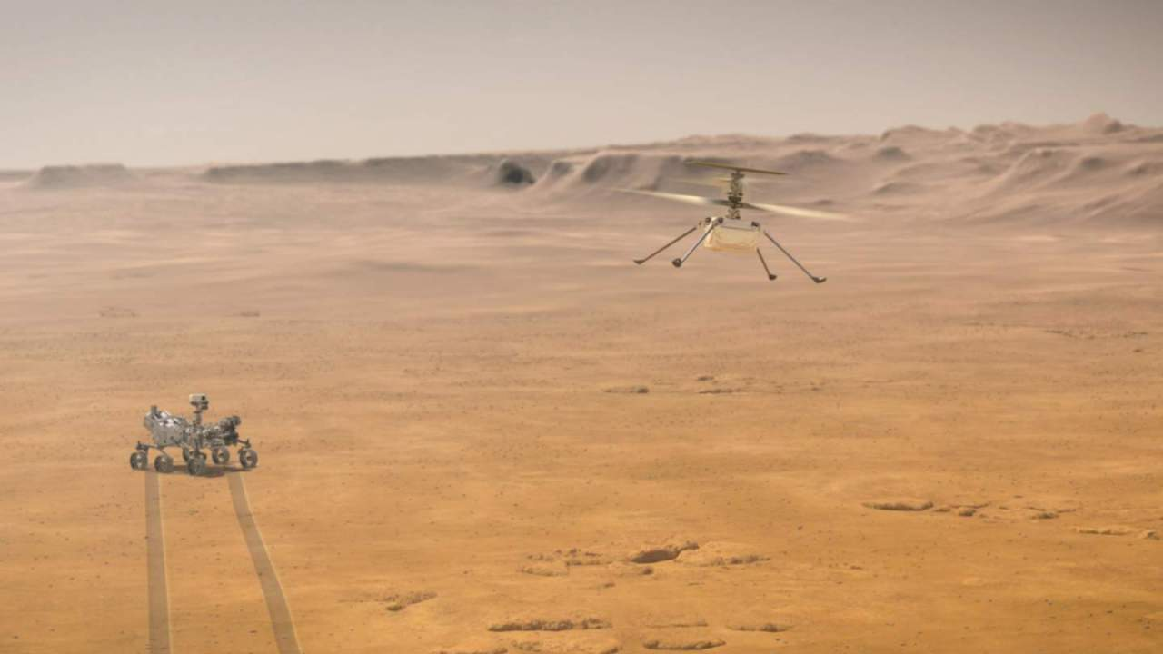 Here's why NASA's Ingenuity Mars Helicopter is Perseverance's best friend