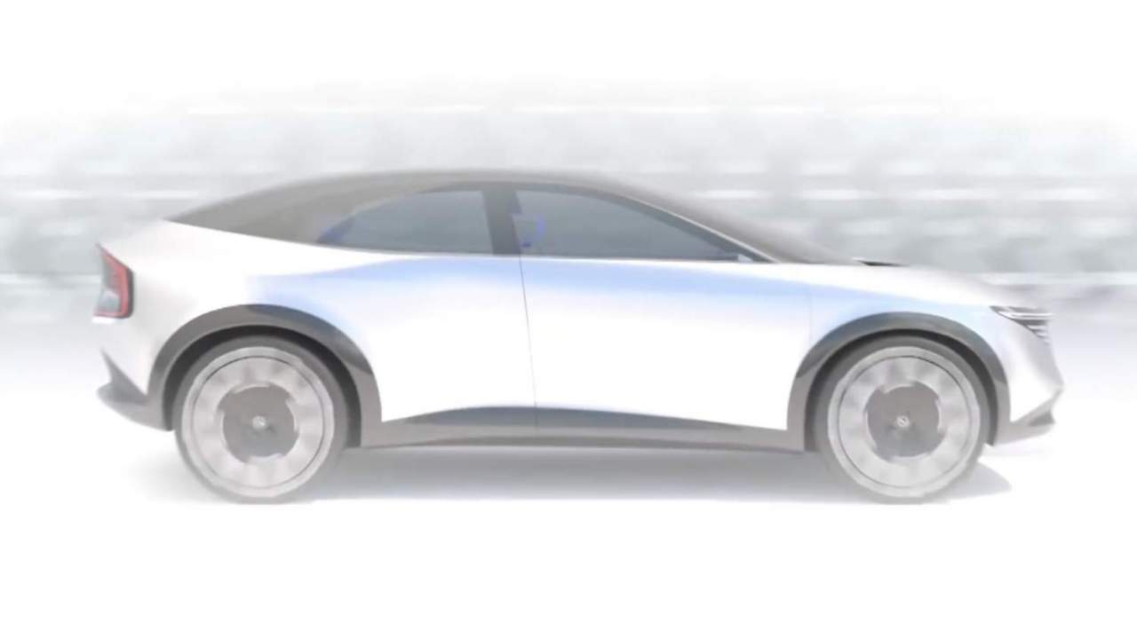 New Nissan crossover EV teased amid gigafactory battery investment