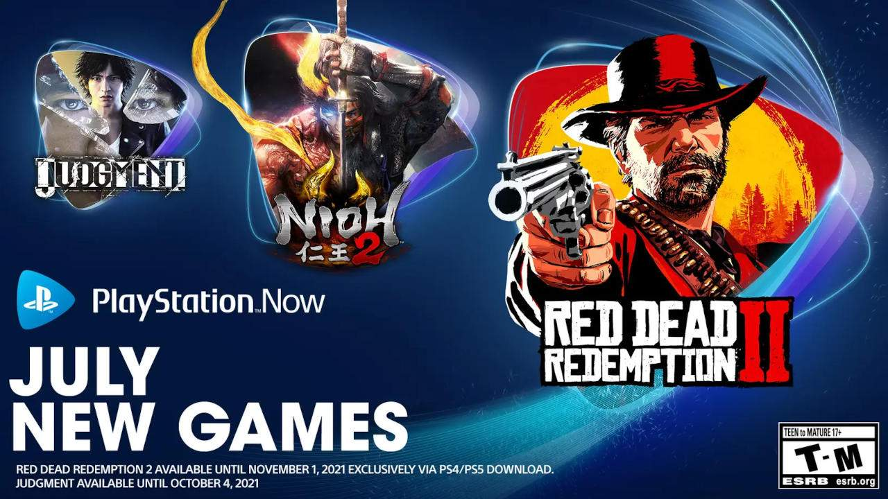 PlayStation Now welcomes Red Dead Redemption 2, Nioh 2, and Olympics 2020