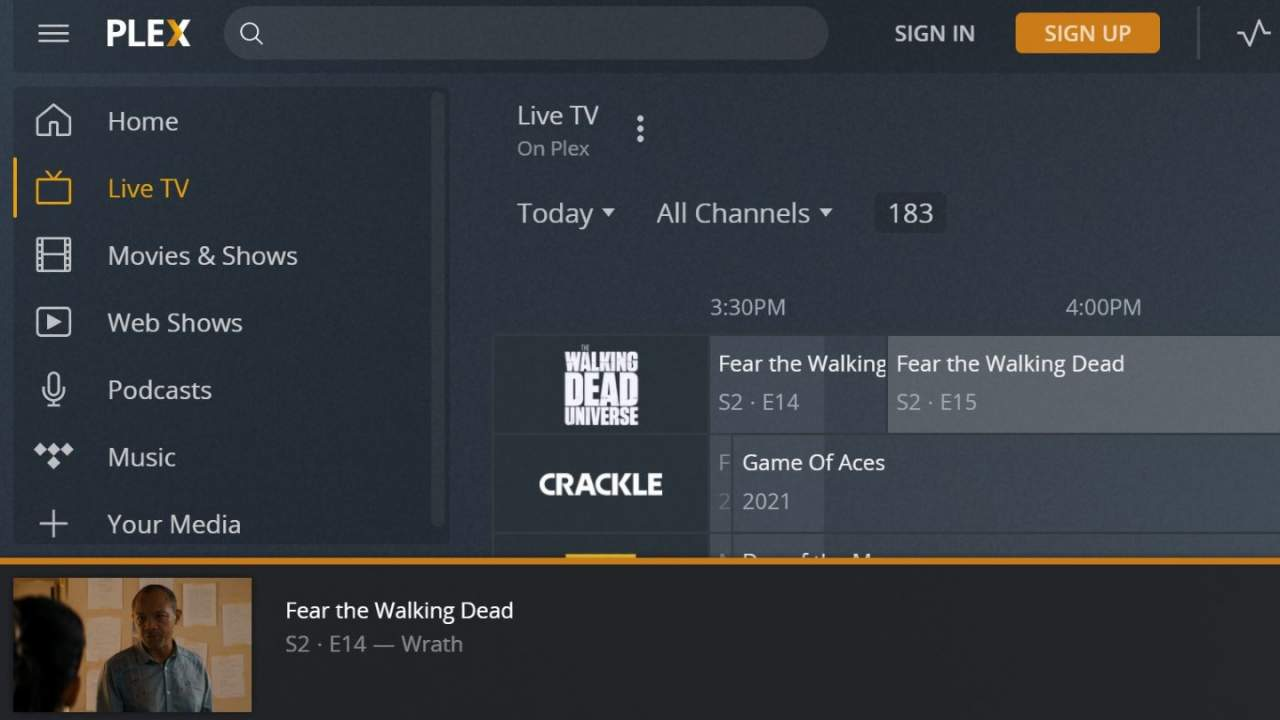 Plex quietly adds more than a dozen channels to its free TV service