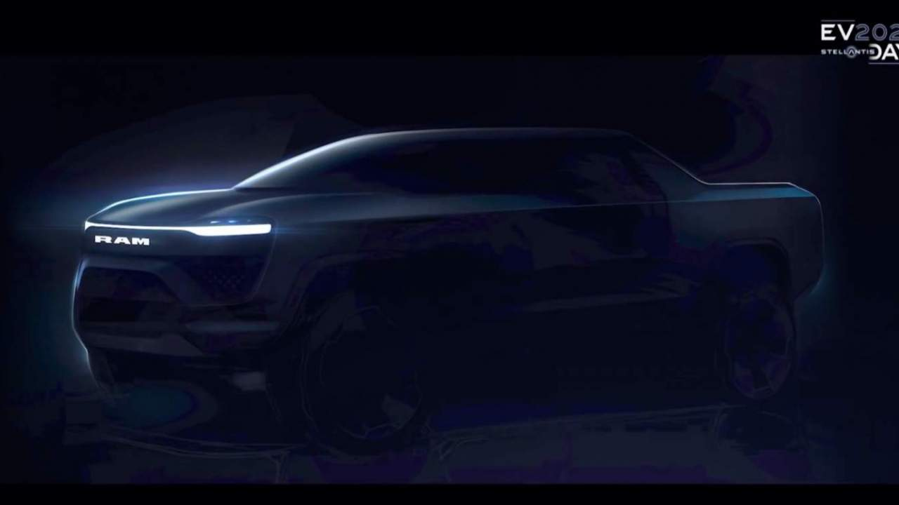 A Ram 1500 BEV is joining the electric pickup party