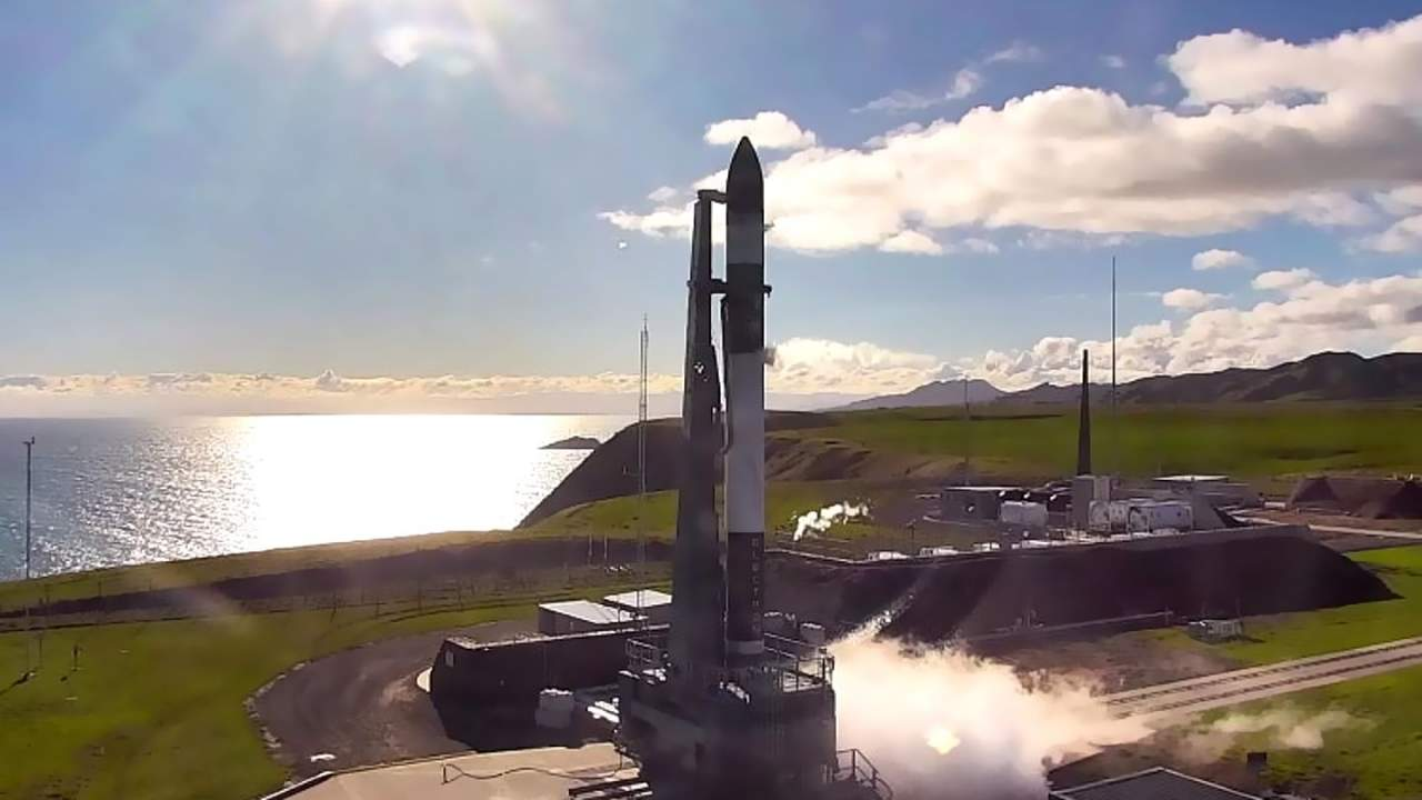 Rocket Lab successfully launches Space Force's Monolith satellite payload