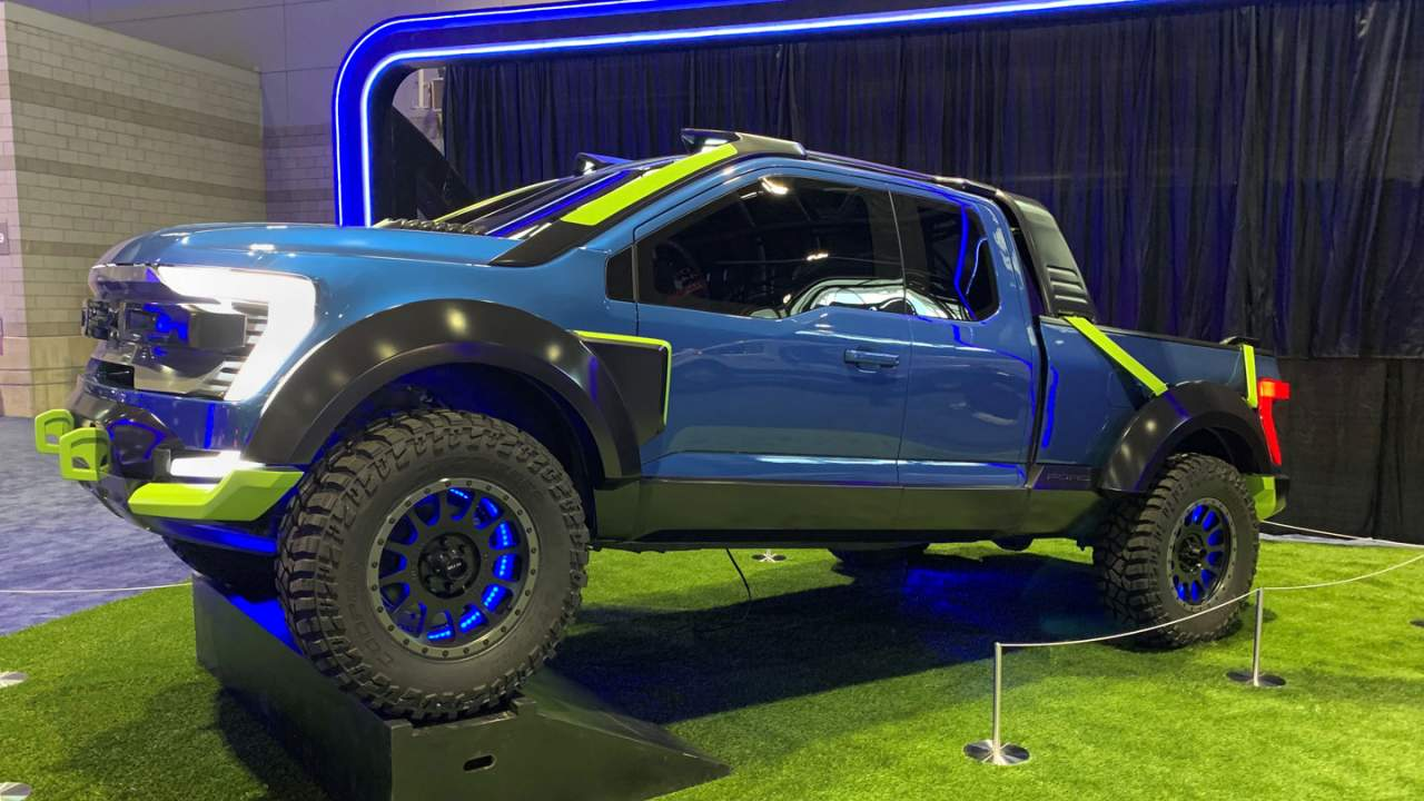Ford F-150 Rocket League pickup on display in Chicago and lots more