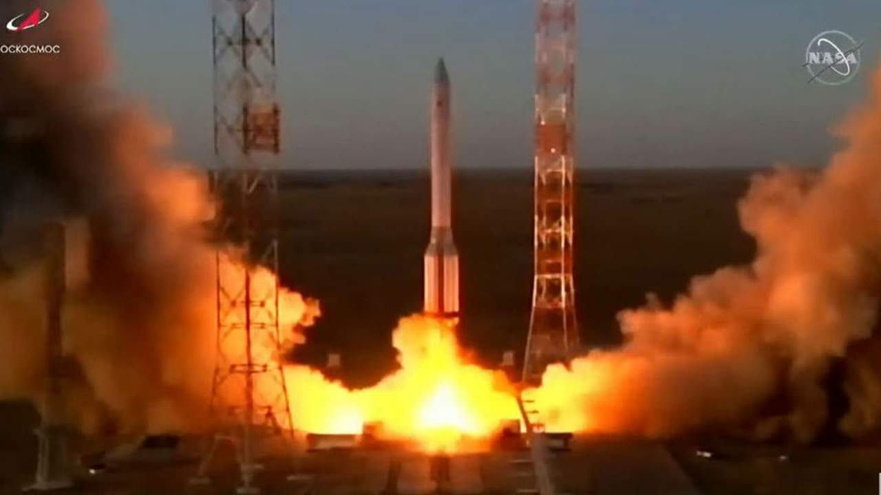 Russian Multipurpose Research Module finally heads to the ISS