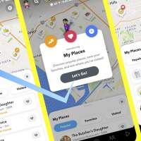 """Snapchat Snap Map gets """"My Places"""" to track you better"""