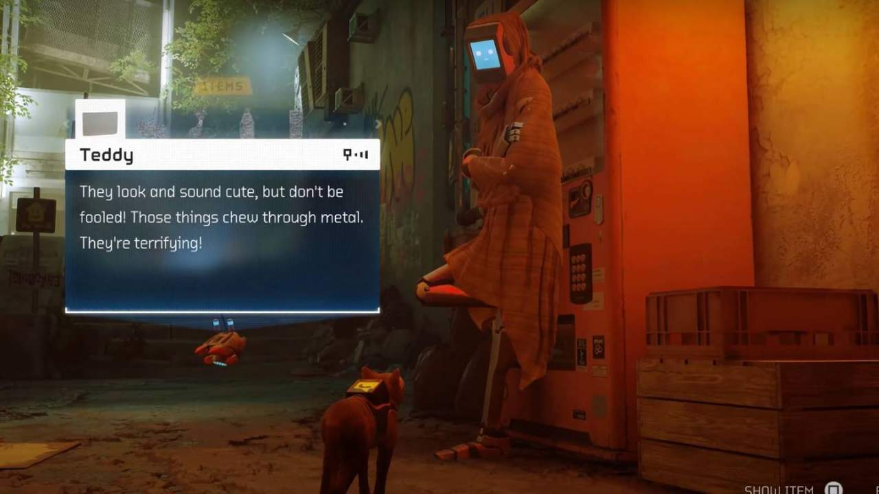 Cyberpunk game Stray trailer: Watch five minutes of cat gameplay