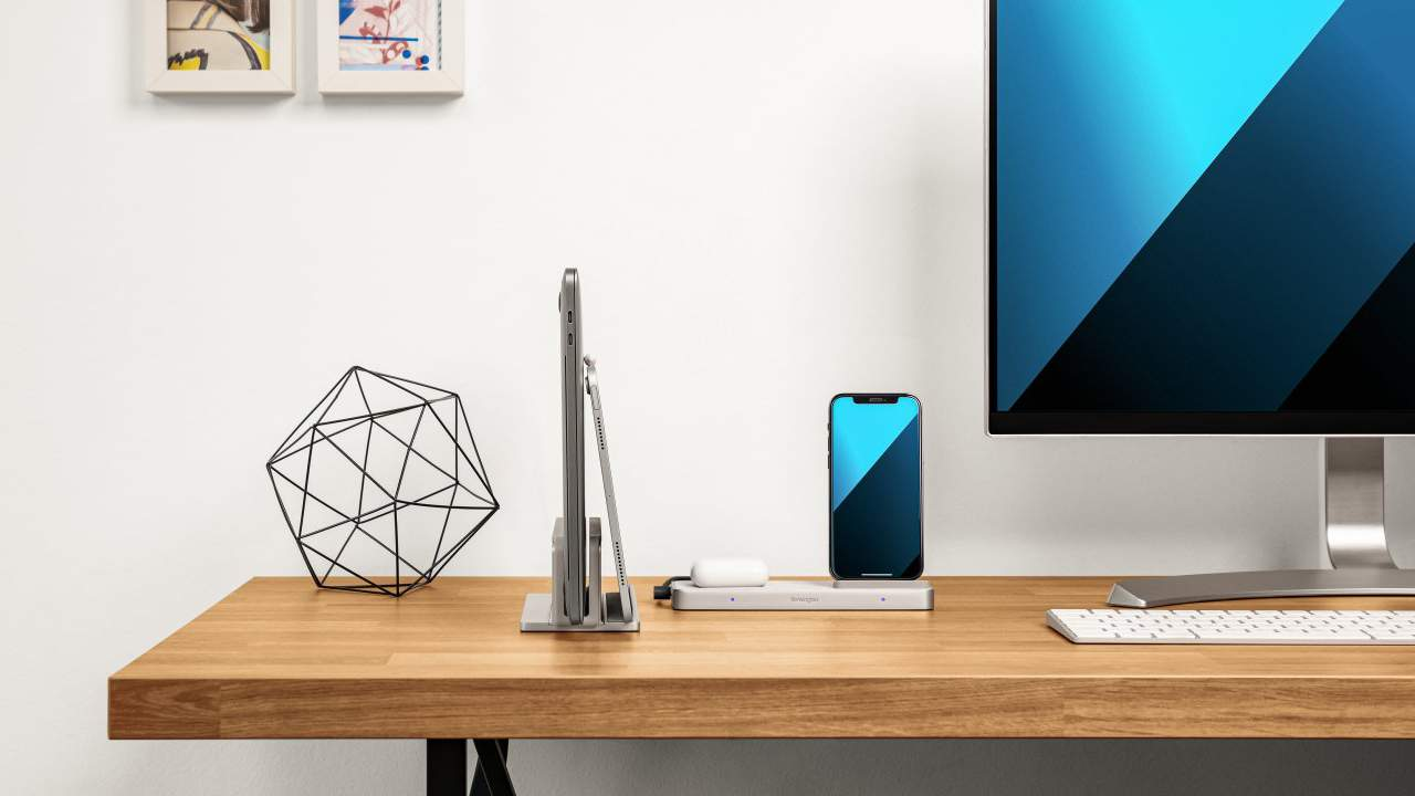 Kensington StudioCaddy is a charging hub and desk tidy for Apple fans