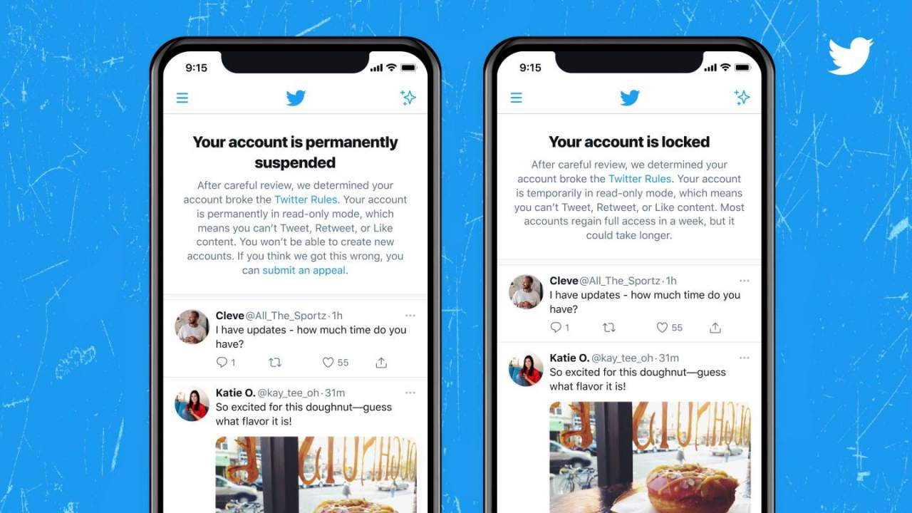 Twitter test makes it loud and clear when you've made a mistake