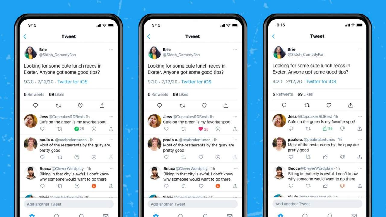 Twitter lets users downvote tweets, but not to encourage negativity