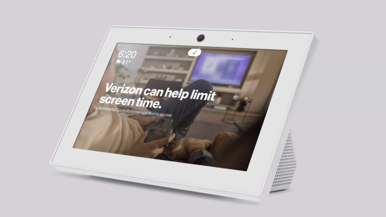 This Verizon Smart Display has LTE inside to get you outage answers