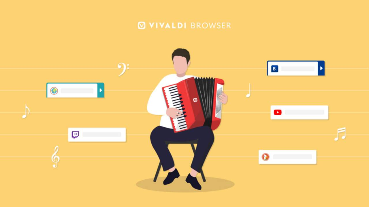 Vivaldi browser gains Accordion Tabs and Command Chains