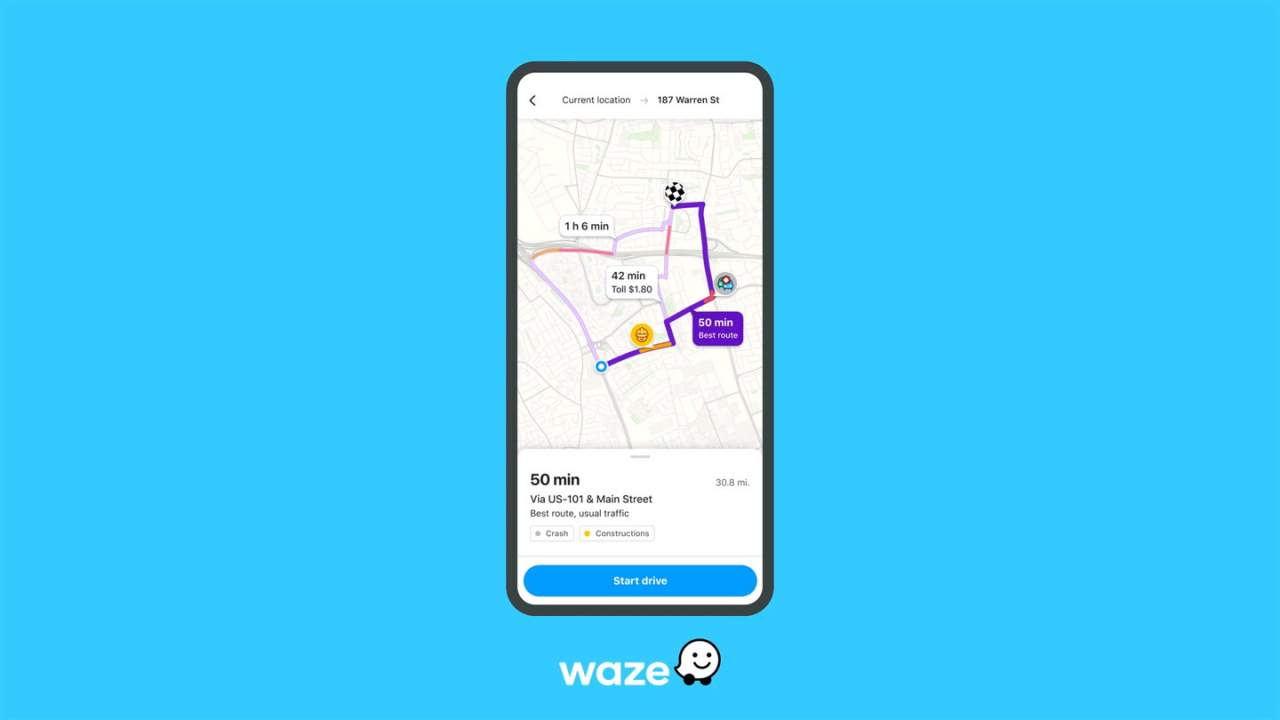 Waze now offers users more data about the drive before they get in the car