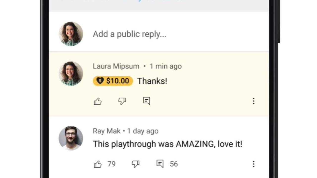YouTube Super Thanks tipping feature expands to thousands of creators