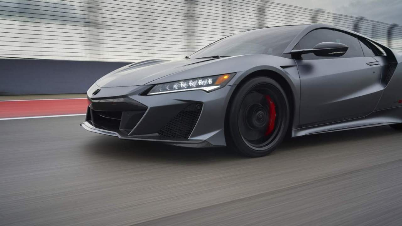2022 Acura NSX Type S debuts at Monterey Car Week with 600HP V6 engine