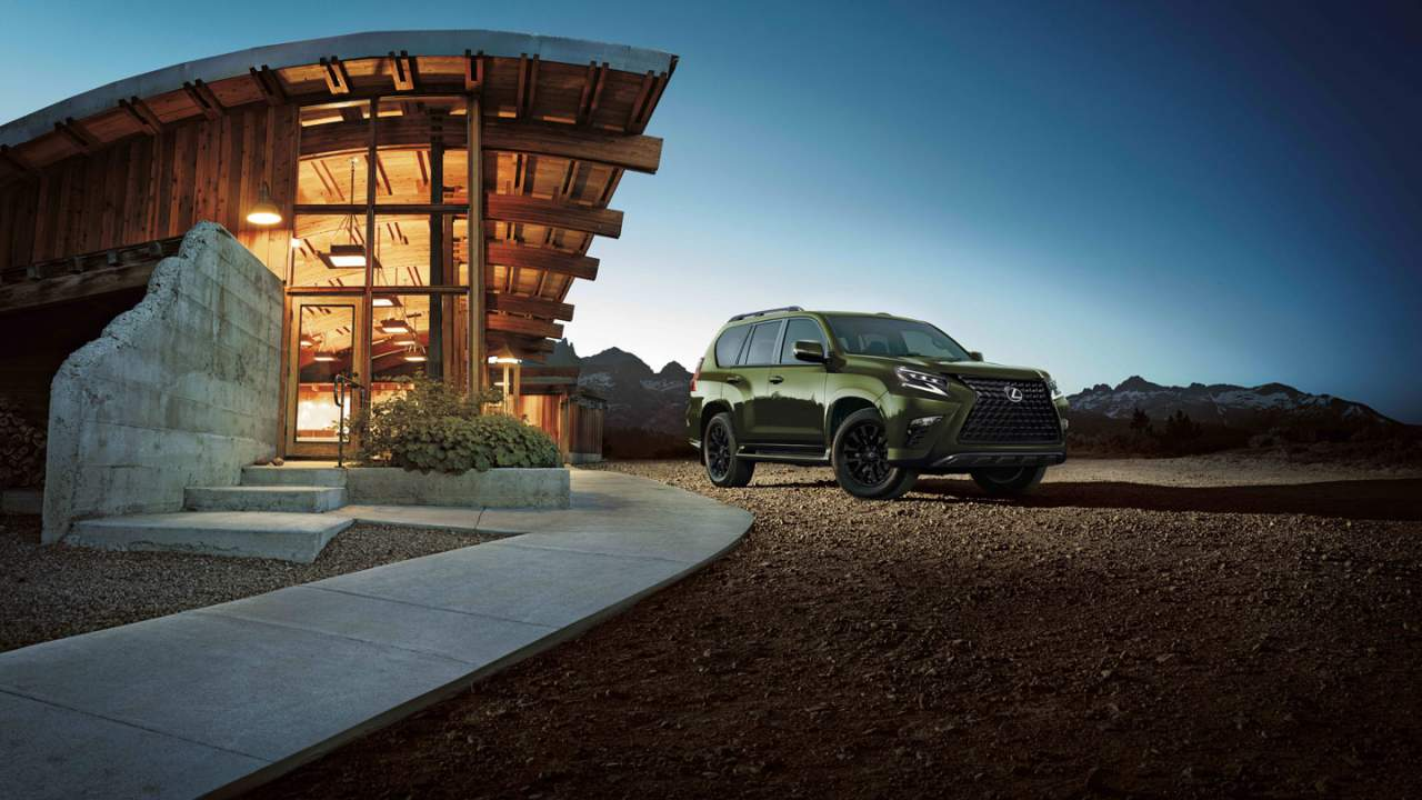 2022 Lexus GX 460 offers a Black Line Special Edition model