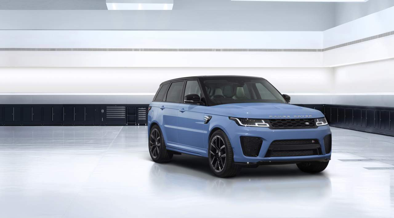 2022 Range Rover Sport SVR Ultimate Edition gets new colors and bespoke detailing