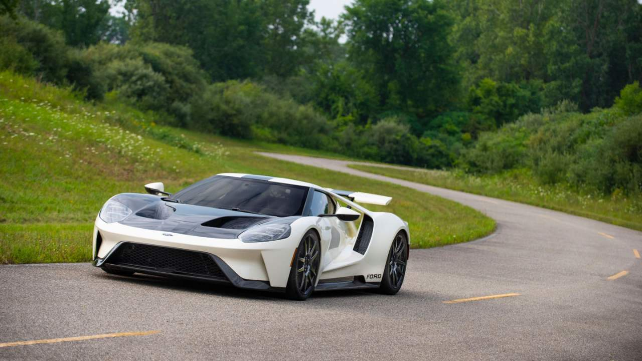 Ford announces a limited run 2022 Ford GT '64 Heritage Edition
