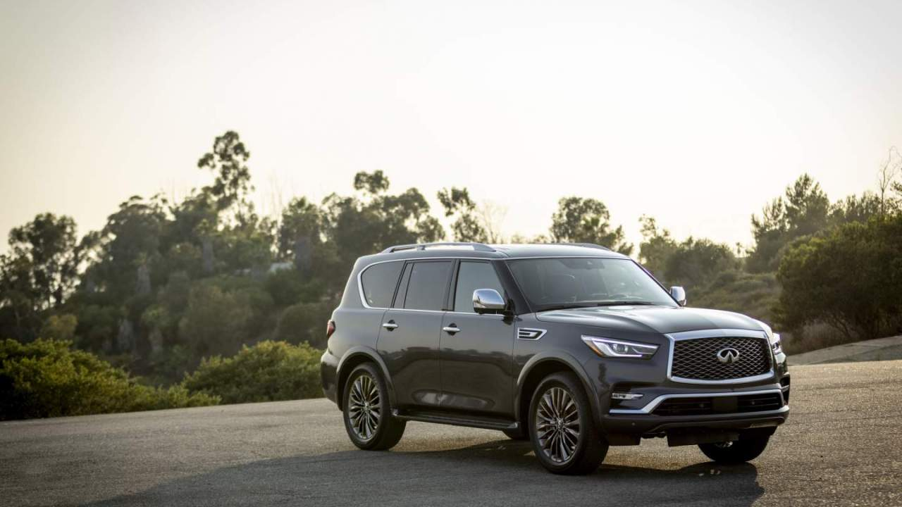 2022 Infiniti QX80 unveiled featuring a new infotainment system