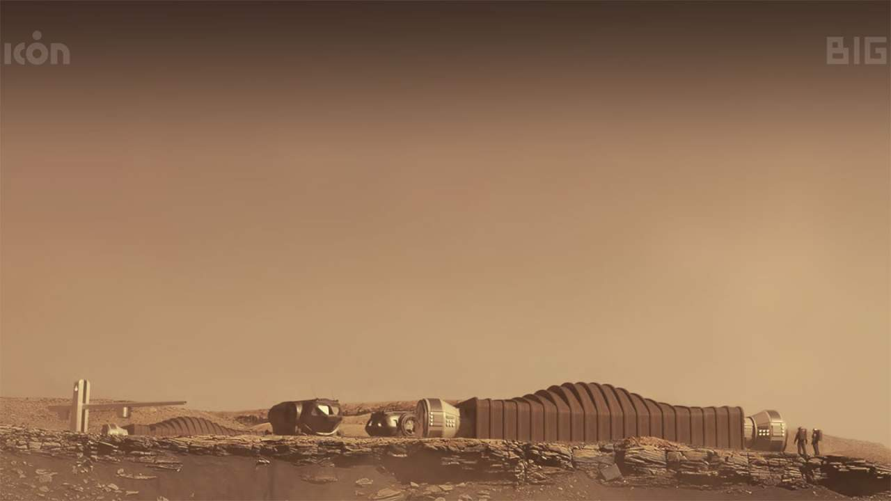First 3D printed simulated Mars surface habitat constructed