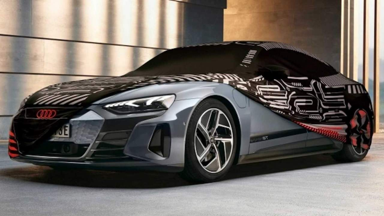 Audi e-tron GT car cover protects your EV without skimping on style