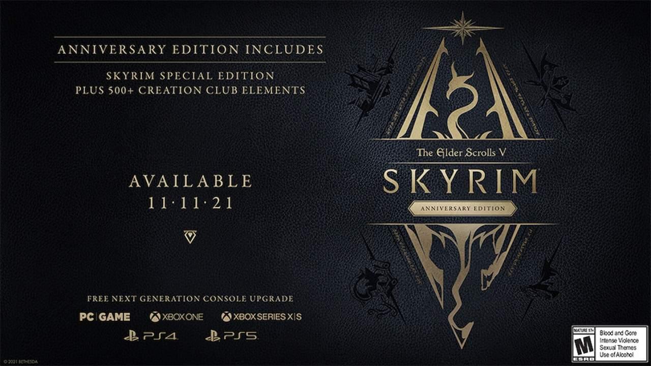Bethesda celebrates 10 years of Skyrim by re-releasing Skyrim