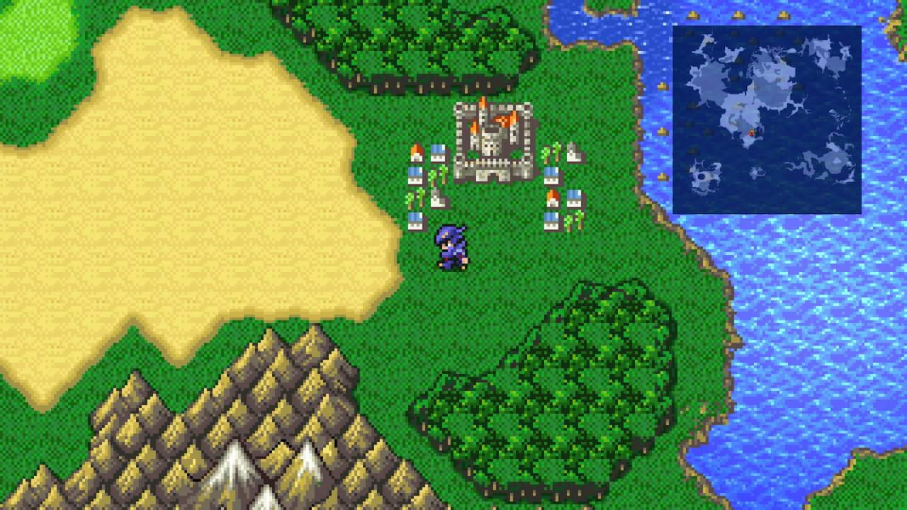 Final Fantasy IV Pixel Remaster dated for PC and mobile