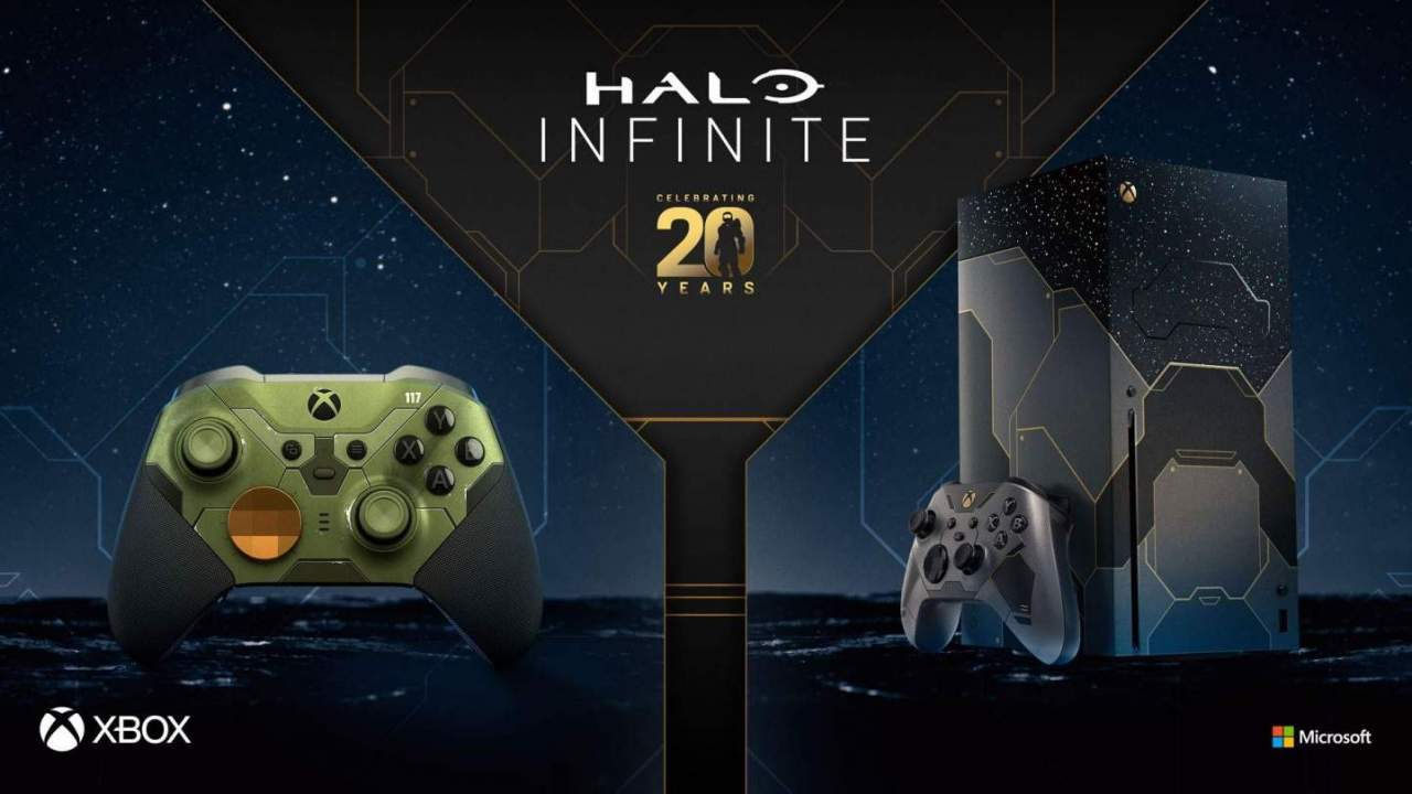 Halo Infinite custom Xbox Series X and controller revealed