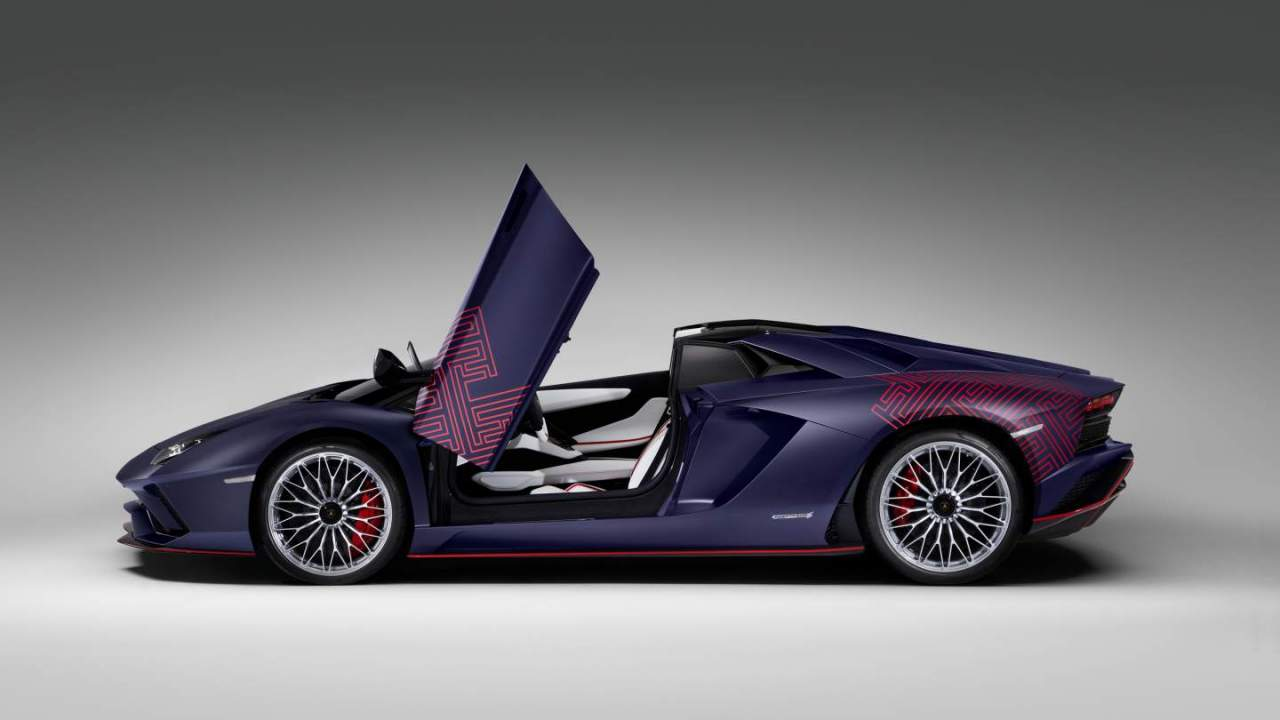 Lamborghini Aventador S Roadster Korean Special Series is limited to two units only