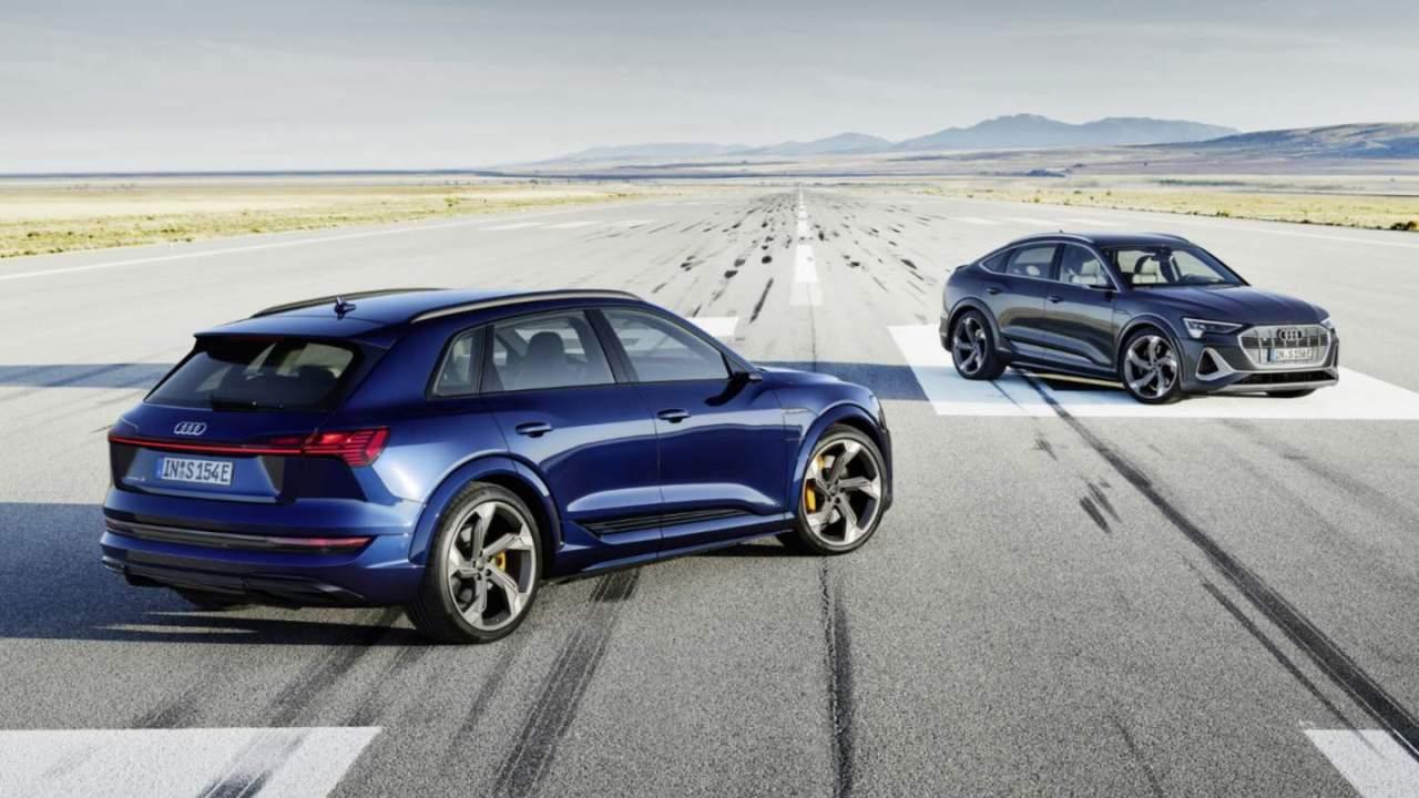 2022 Audi e-tron S and e-tron S Sportback US launch detailed for tri-motor fun