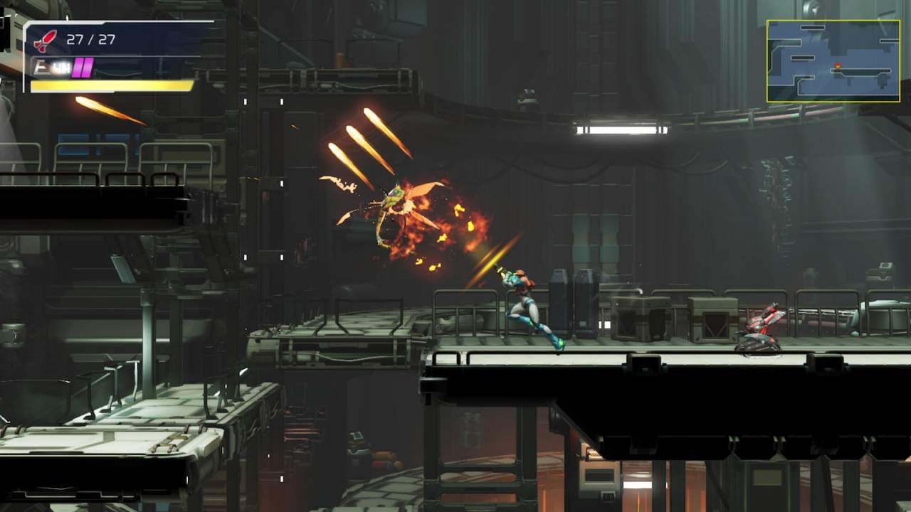 Latest Metroid Dread trailer shows off new gameplay and a surprising enemy