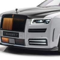 Mansory Rolls-Royce Ghost has 720HP and orange accents