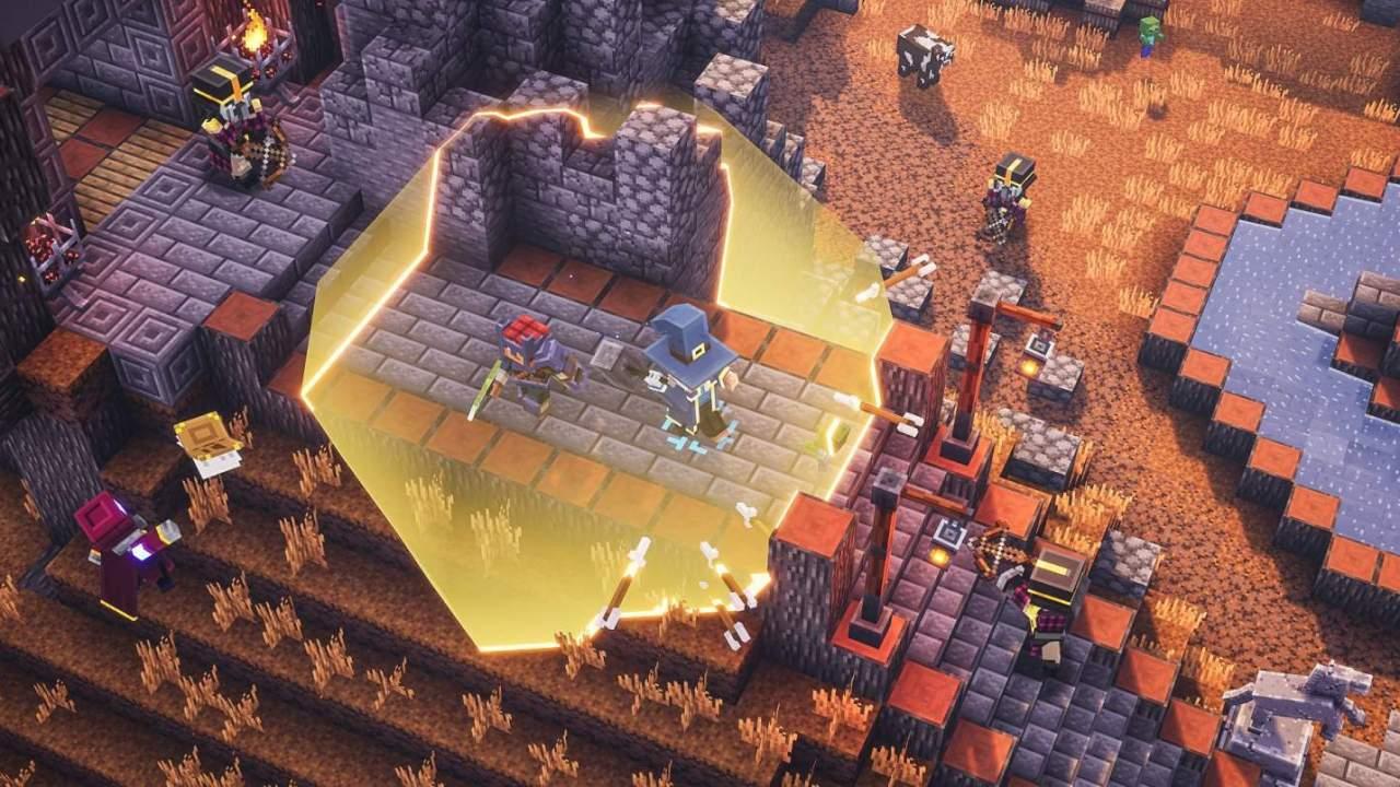 Minecraft Dungeons heads to Steam next month