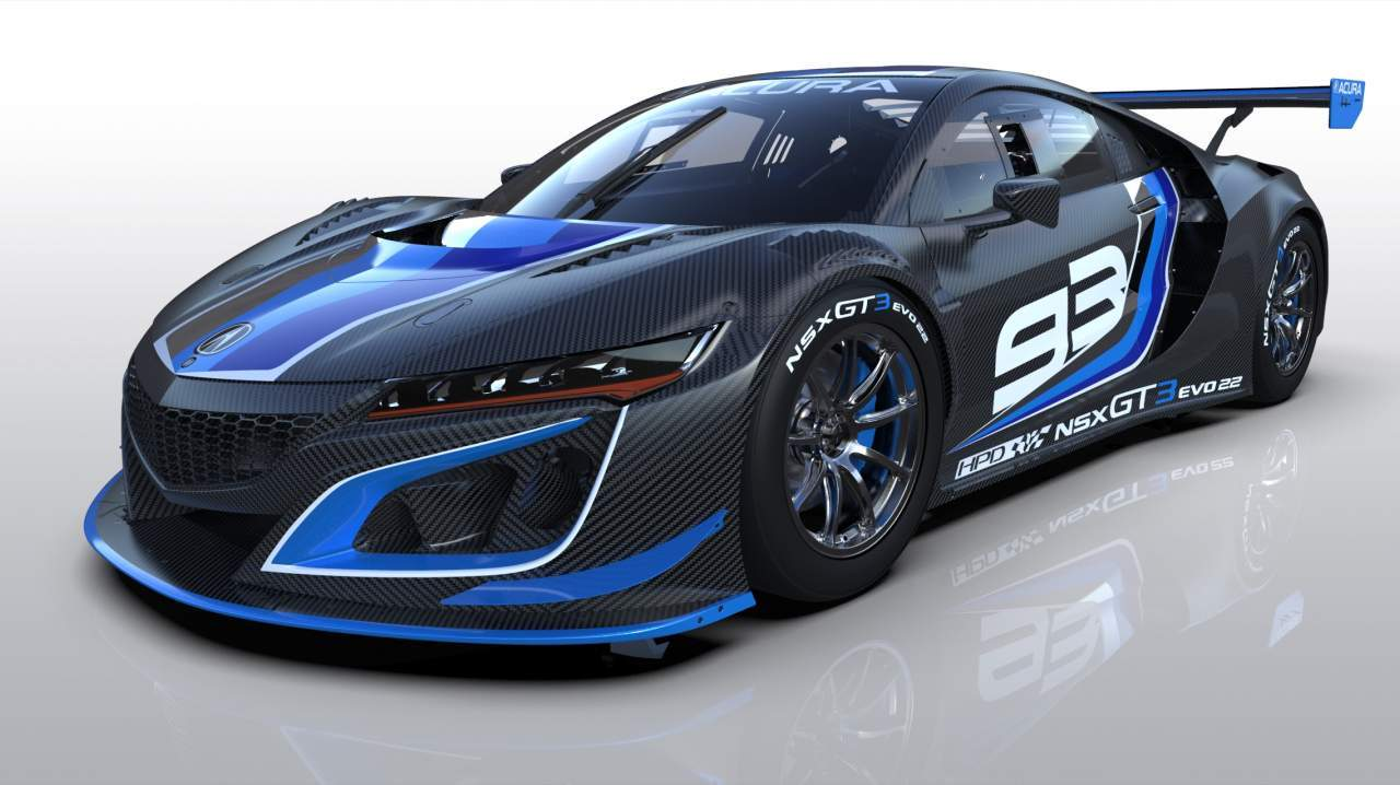 Acura NSX GT3 Evo22 debuts with performance updates