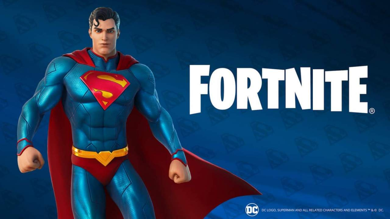 Superman items are finally available in Fortnite: Here's how to unlock them