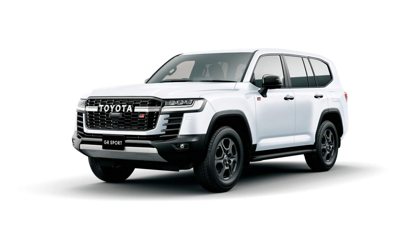 Toyota launches the new Land Cruiser boasting a significant weight loss