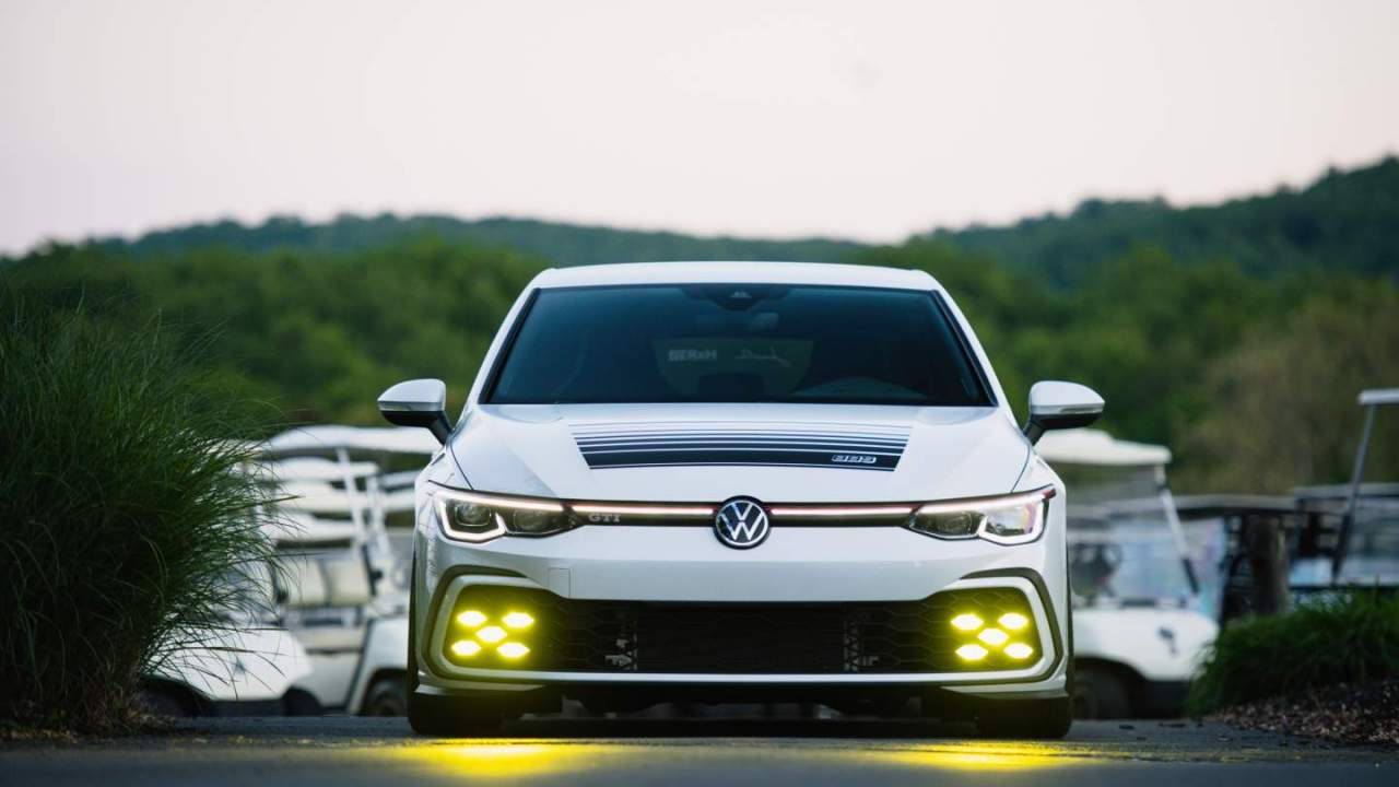 Volkswagen Golf GTI BBS Concept pays homage to the Mk2 GTI