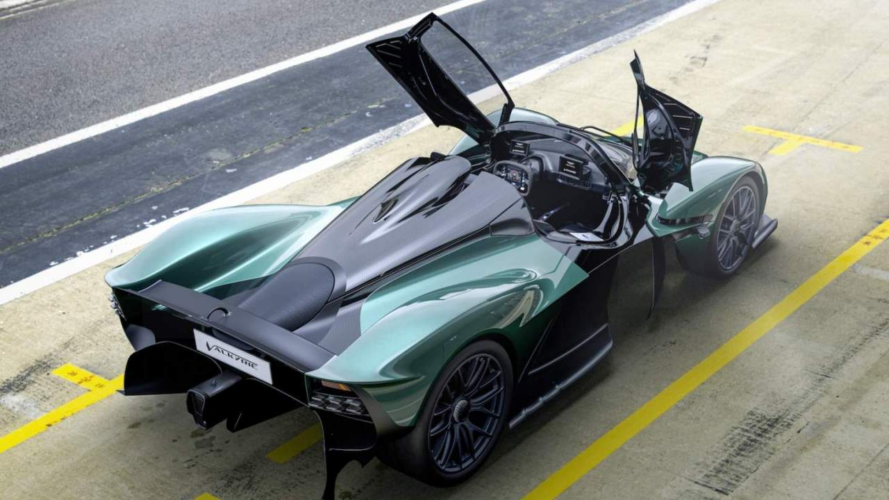 Aston Martin Valkyrie Spider makes a roadster from the V12 hybrid hypercar