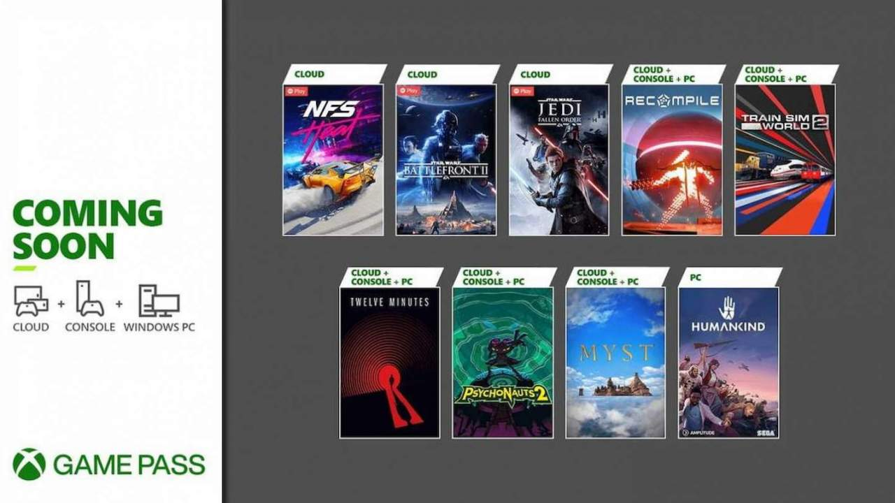 Xbox Game Pass picks up Humankind, Star Wars, Psychonauts 2 to close out August