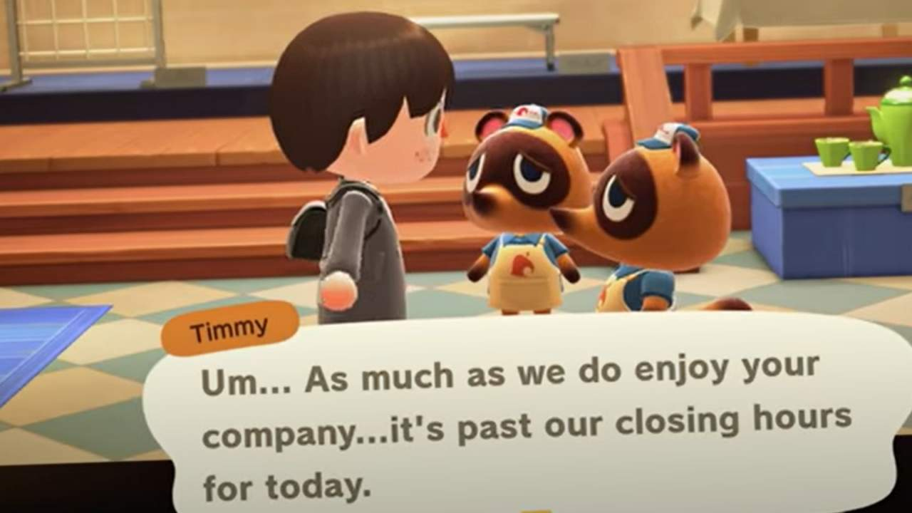 Animal Crossing update tweaks Nook's Cranny closing